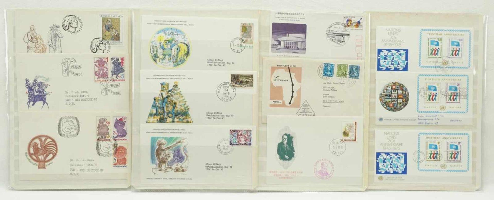 108 Ersttagsbriefe (FDCs) - Bild 3 aus 3