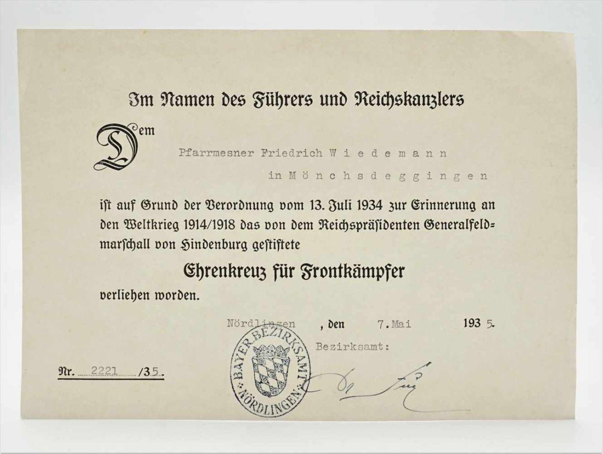 Nachlass eines bayrischen Soldaten - Bild 7 aus 7