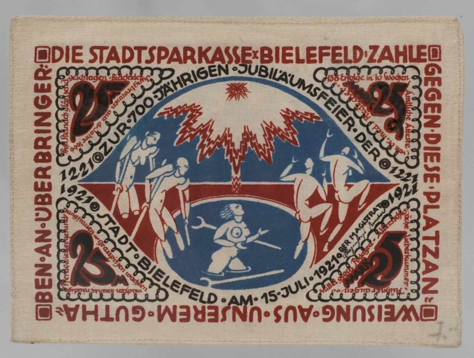 17 Notgeldscheine, Bielefeld und verschiedene Orte Schlesiens - Bild 3 aus 5