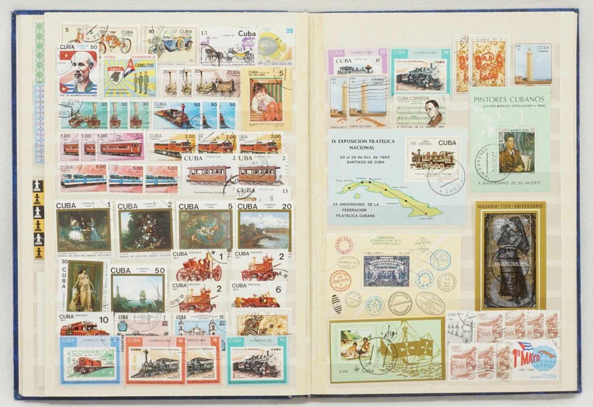 Ca. 3150 Briefmarken und Blocks aus aller Welt - Bild 3 aus 4