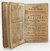 """Gottfried Büchner, """"Biblische Real- und Verbal-Hand-Concordanz"""""""