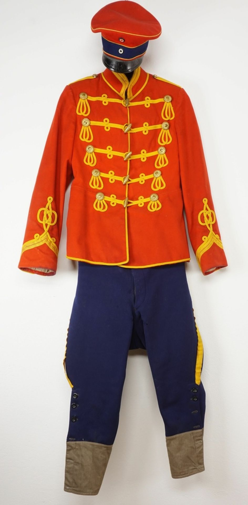 Uniform des Leib-Garde-Husaren-Regiments Potsdam, um 1900