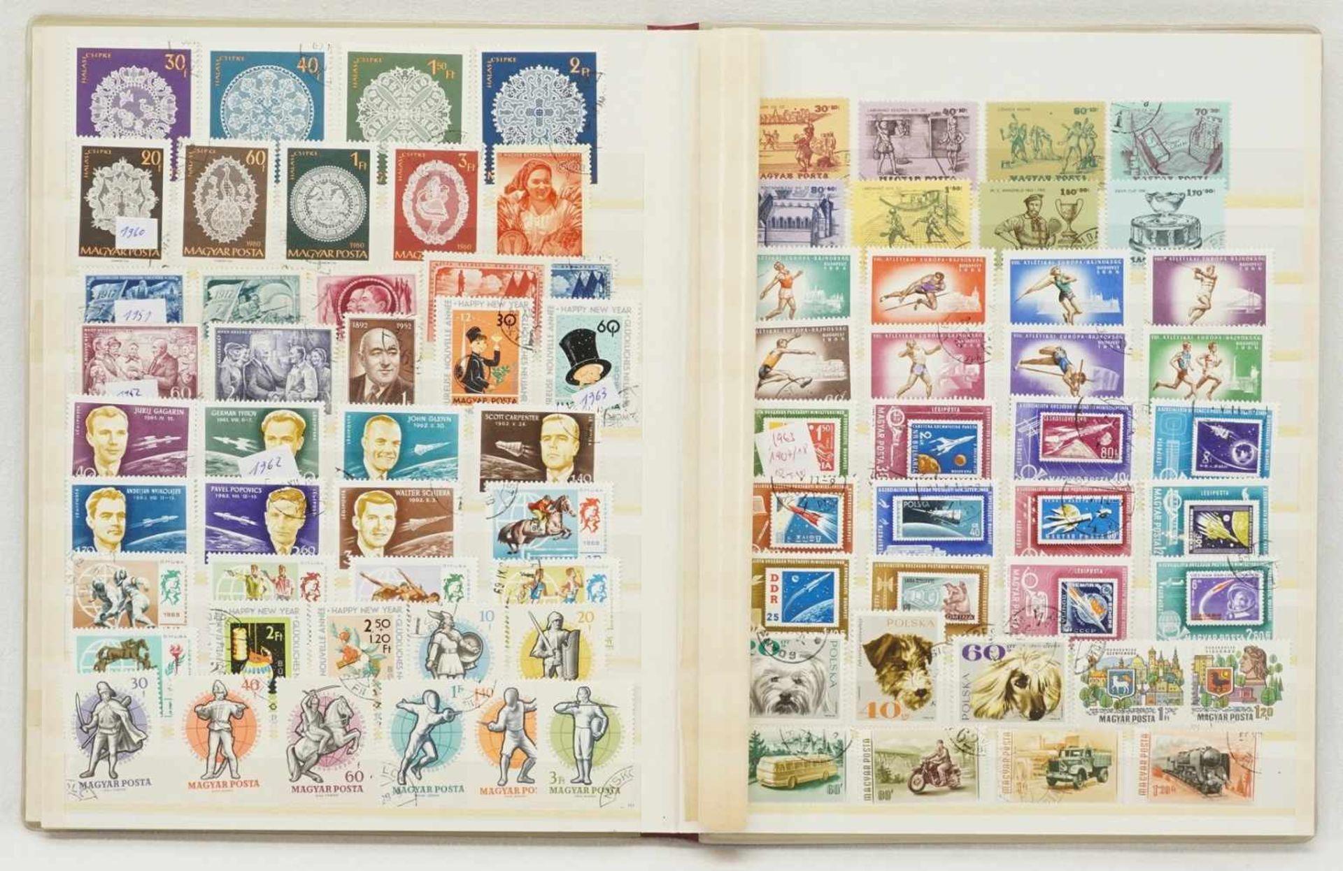 Ca. 3150 Briefmarken und Blocks aus aller Welt - Bild 2 aus 4