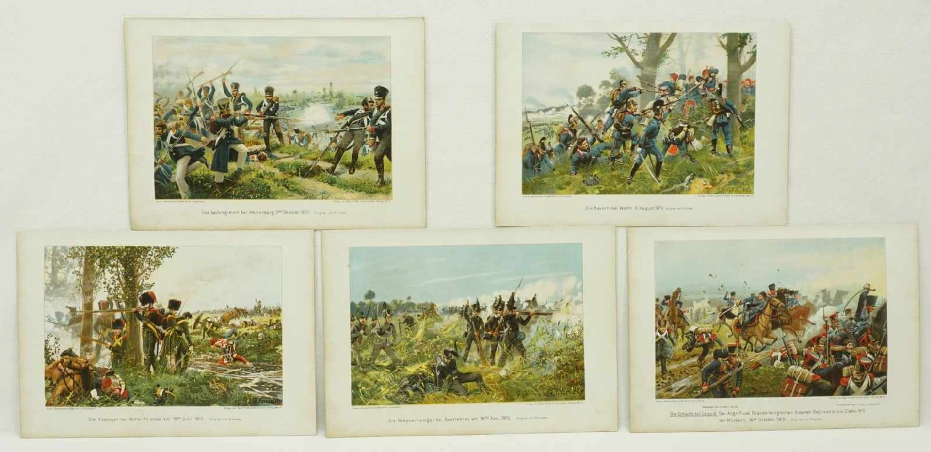 40 militärhistorische Kunstblätter - Bild 3 aus 3