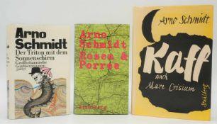 Drei Bücher von Arno Schmidt