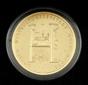 100-Euro-Goldmünze UNESCO-Weltkulturerbestadt Quedlinburg
