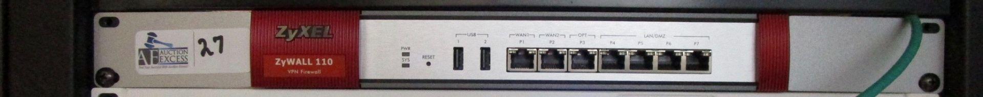 Lot 27 - ZYXEL VPN FIREWALL