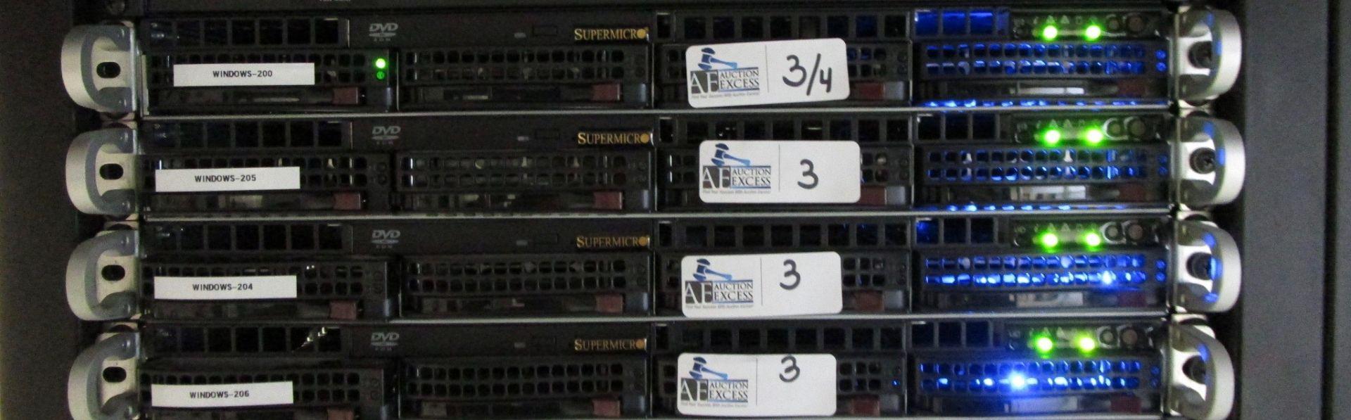 Lot 3 - LOT OF 4 AMD DUAL CPU RENDER NODES