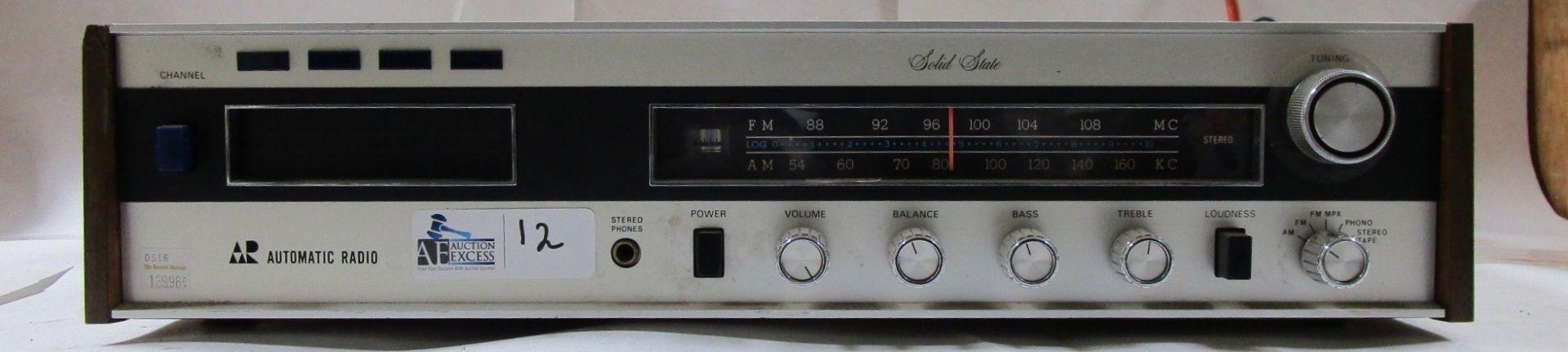 Lot 12 - AUTOMATIC RADIO HMX-4000