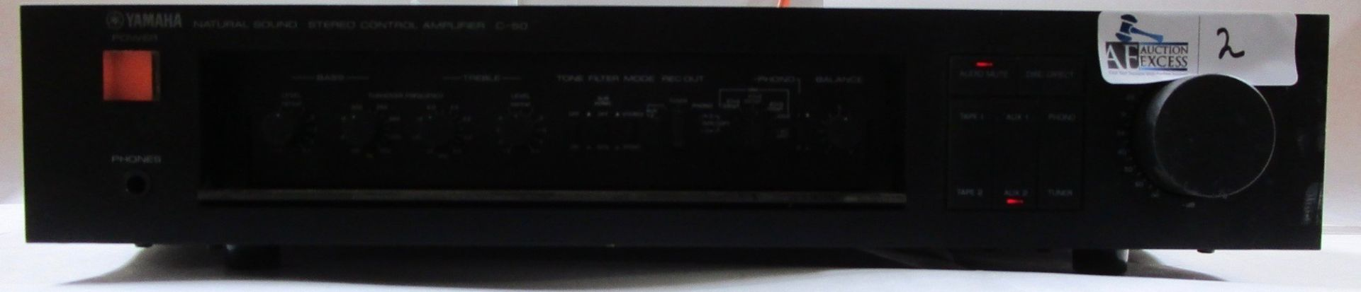 Lot 2 - YAMAHA C50 PREAMP