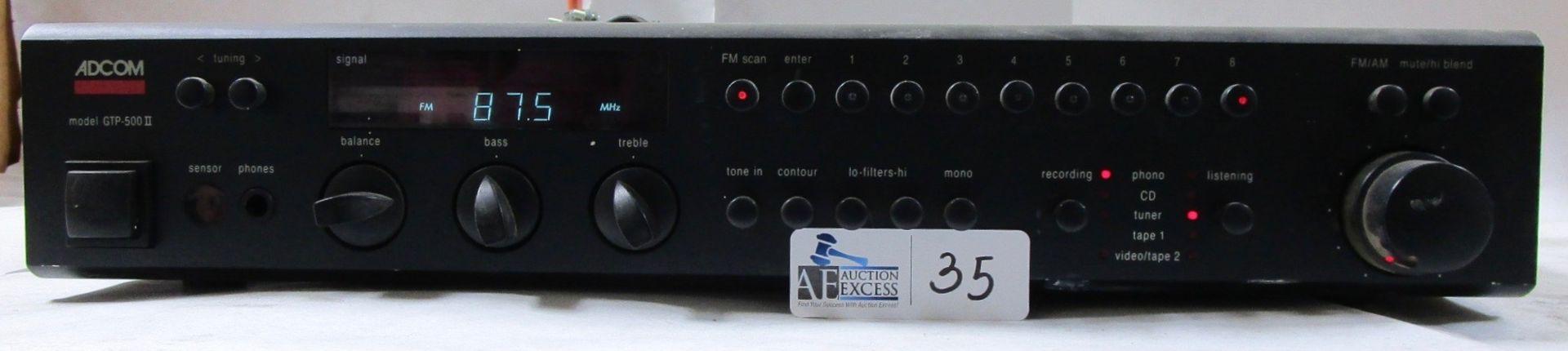 Lot 35 - ADCOM GTP-500 II