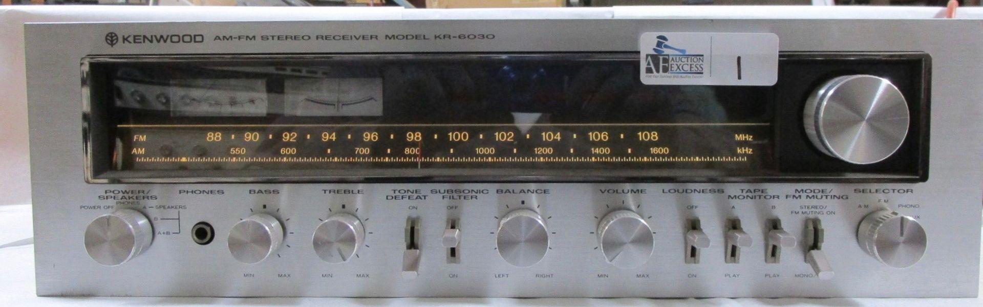 Lot 1 - KENWOOD KR-6030 RECEIVER
