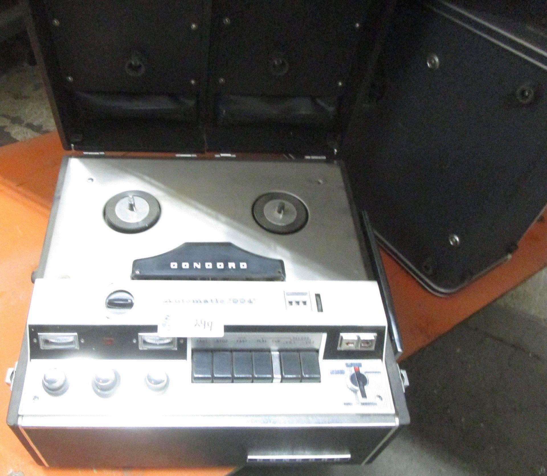 Lot 244 - CONCORD AUTOMATIC 944 TAPE RECORDER