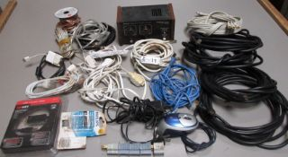 BOX MISC WIRE/POWER CORDS