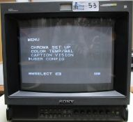 SONY MONITOR PVM-1354Q