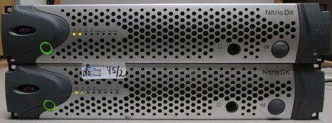 LOT OF 2 AVID NTRIS DX BOXES