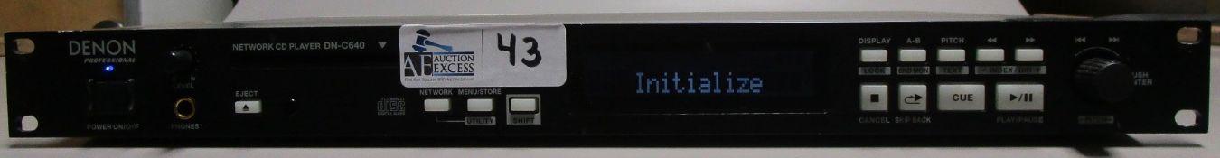 DENON DN-C640 PROFESIONAL CD PLAYER