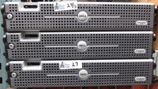 LOT OF 3 DELL POWEREDGE 2590