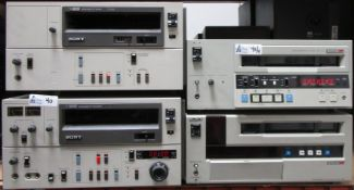 LOT OF 4 SONY MACHINES