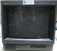 SONY MONITOR PVM-1350