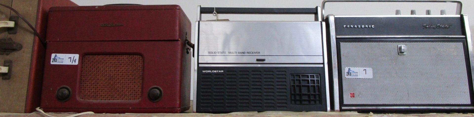 LOT OF 4 VINTAGE ELECTRONICS