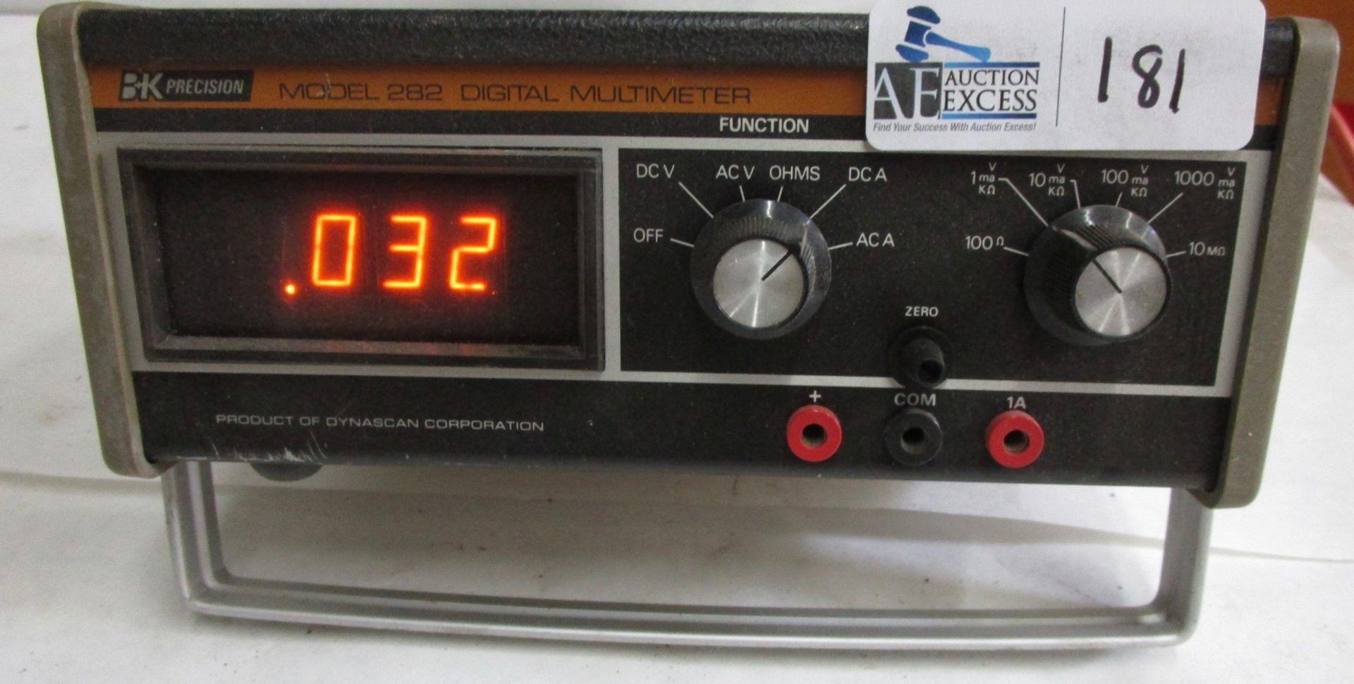 Lot 181 - BK PRECISION 282 MULTI METER