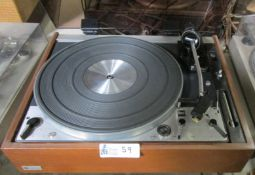 DUAL 1229 TURNTABLE WITH ELAC D794H30 CARTRIDGE