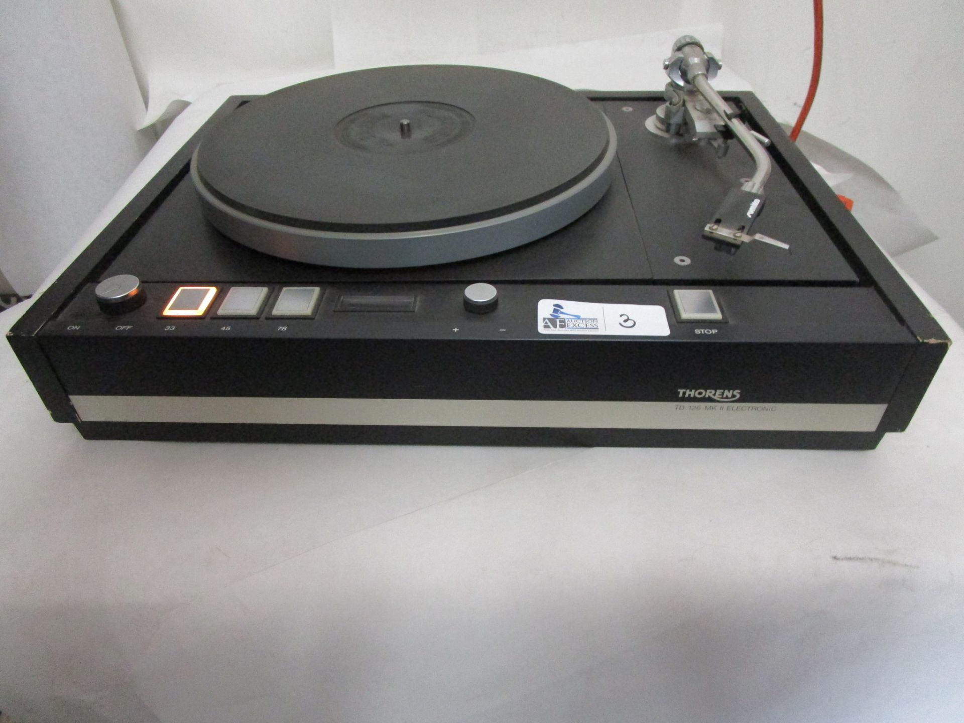 Lot 3 - THORENS TD126-MK II TURNTABLE