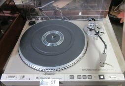 KENWOOD KD-4100R FULLY AUTOMATIC TURNTABLE