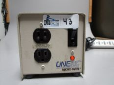 ONE AC CM1102 MICRO MATE POWER CONDITIONER