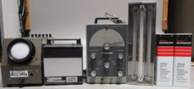 LOT OF 4 VINTAGE TEST EQUIPMENT