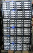 LOT OF 6 AVID SERVER/RAIDS WITH DRIVES