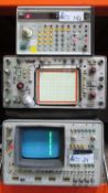 LOT OF 3 VINTAGE TEST EQUIPMENT