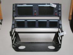 LOT OF 2 DATAVIDEO LCD MONITOR BRIDGES