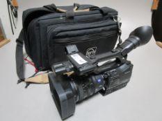 SONY HVR-Z7U DIGITAL HDV EV CAM AND LENS