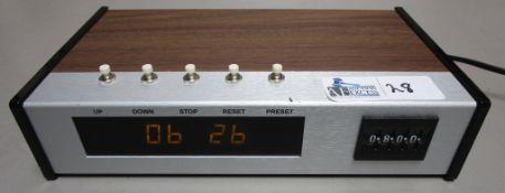 ESE ES-362U CLOCK