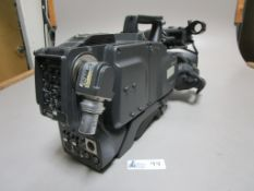 SONY DXC-D55WS CAMERA WITH CA-TX50 ADAPTER
