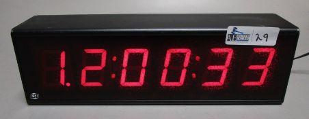 ESE ES-996U CLOCK/DISPLAY