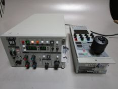 LOT OF 2 SONY INCLUDING CCU-TX50 AND RCP-D50 CCU CONTROL PANEL