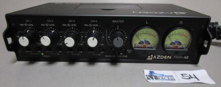 AZDEN FMX-42