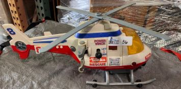 TONKA RESCUE COPTER WITH HANDS ON CONTROL