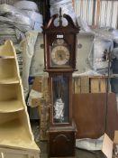 RIDGEWAY TEMPUS FUGIT GRANDFATHER CLOCK WESTERN GERMANY