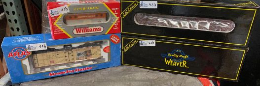 LOT OF 4 COLLECTIBLE TRAINS