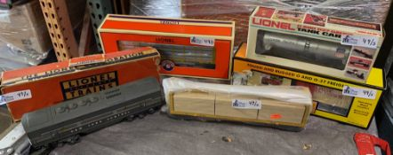 LOT OF 5 COLLECTIBLE TRAINS