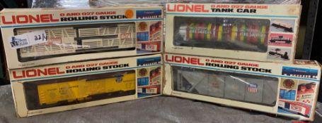 LOT OF 4 LIONEL TRAINS