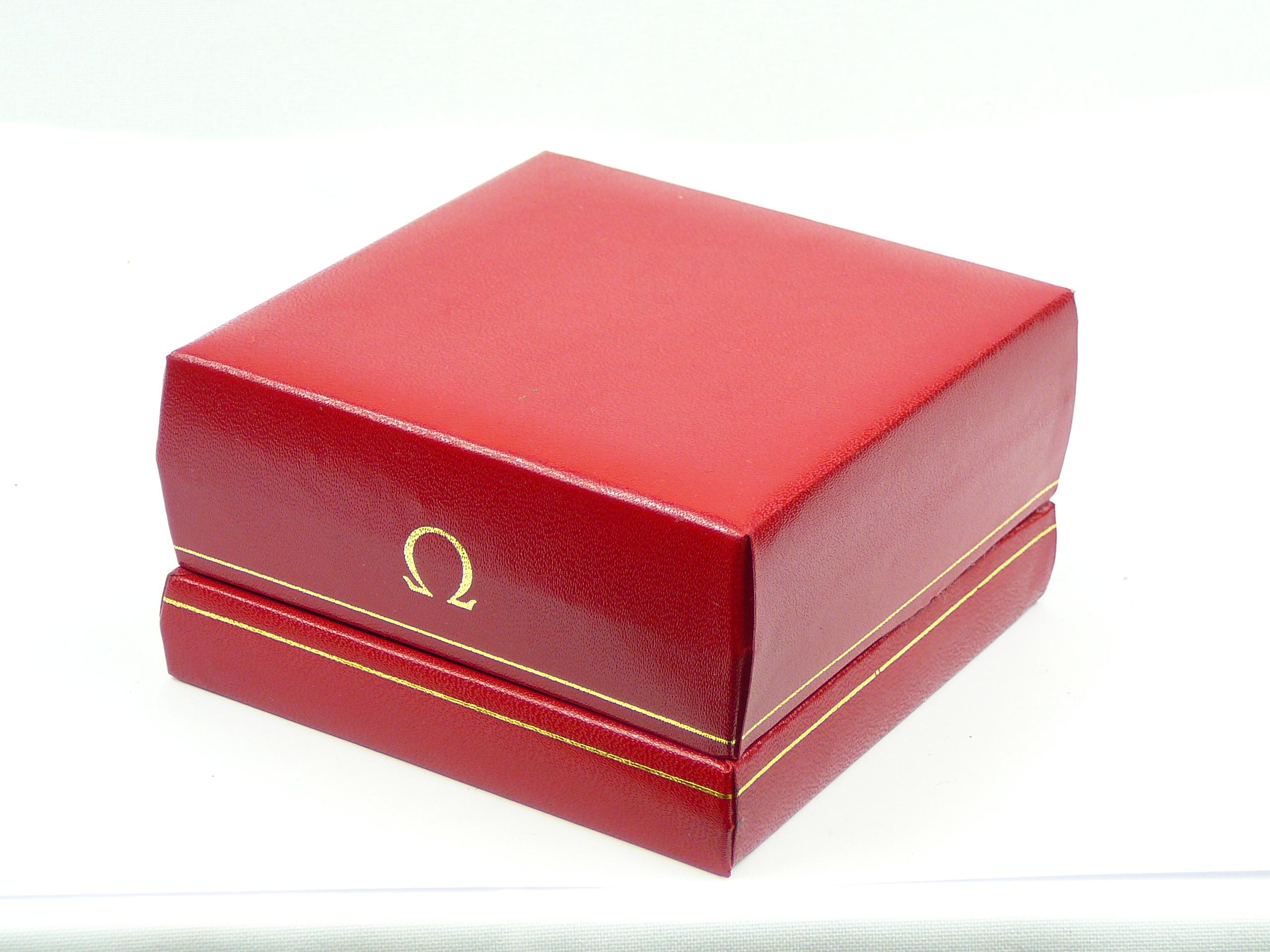 Vintage Omega watch box
