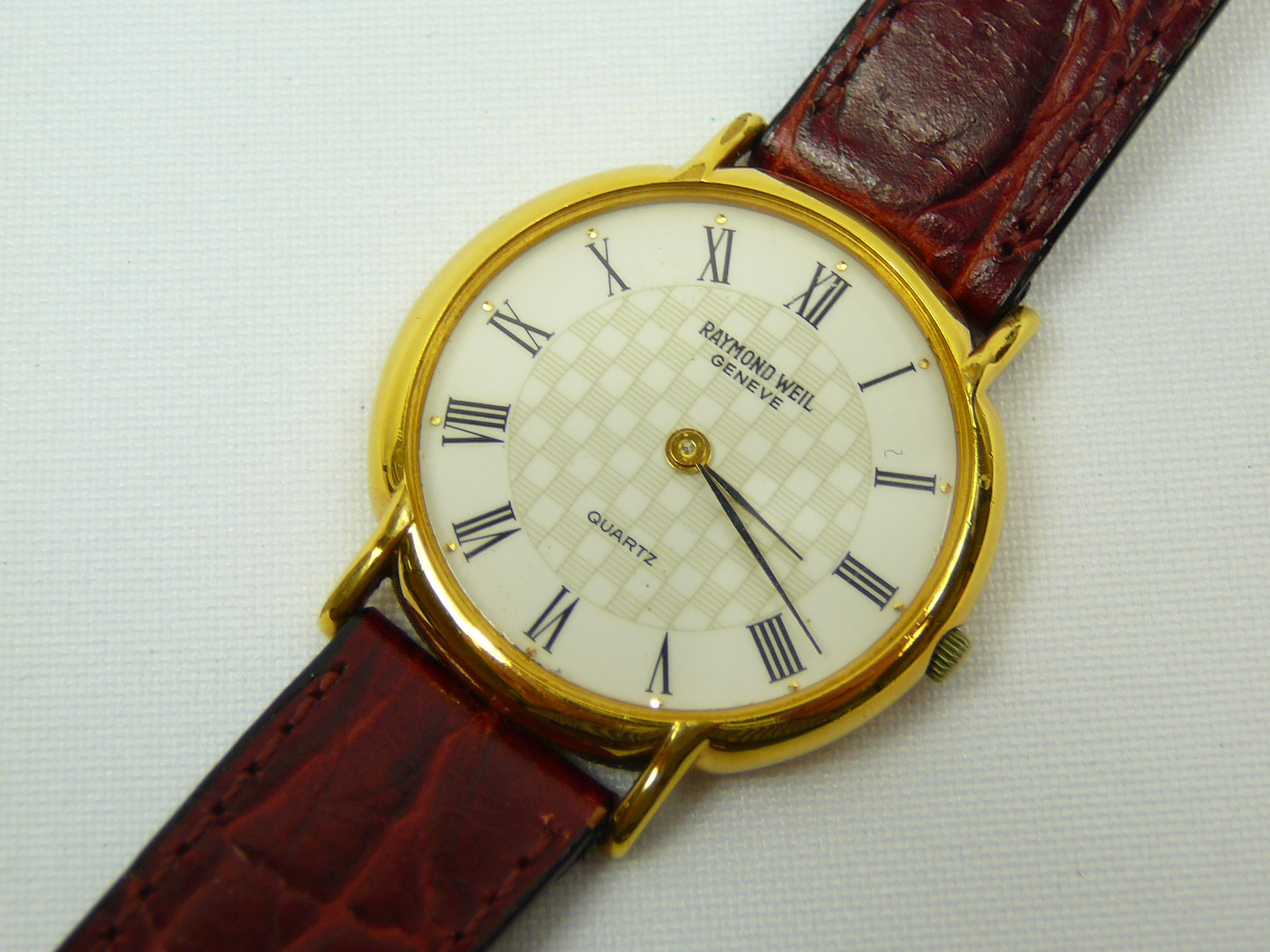 Lot 17 - Gents Raymond Weil wrist watch