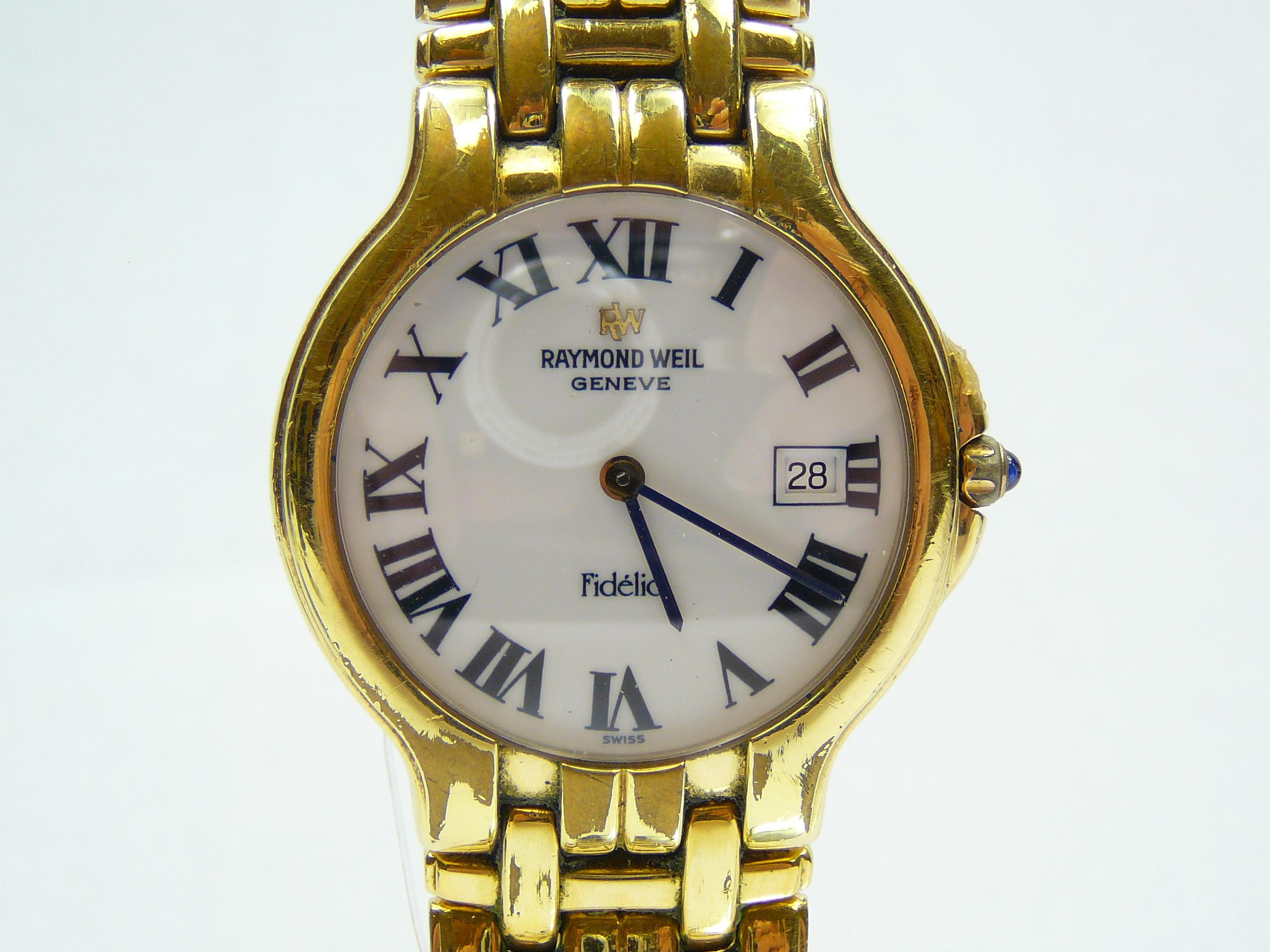 Lot 23 - Gents Raymond Weil wrist watch