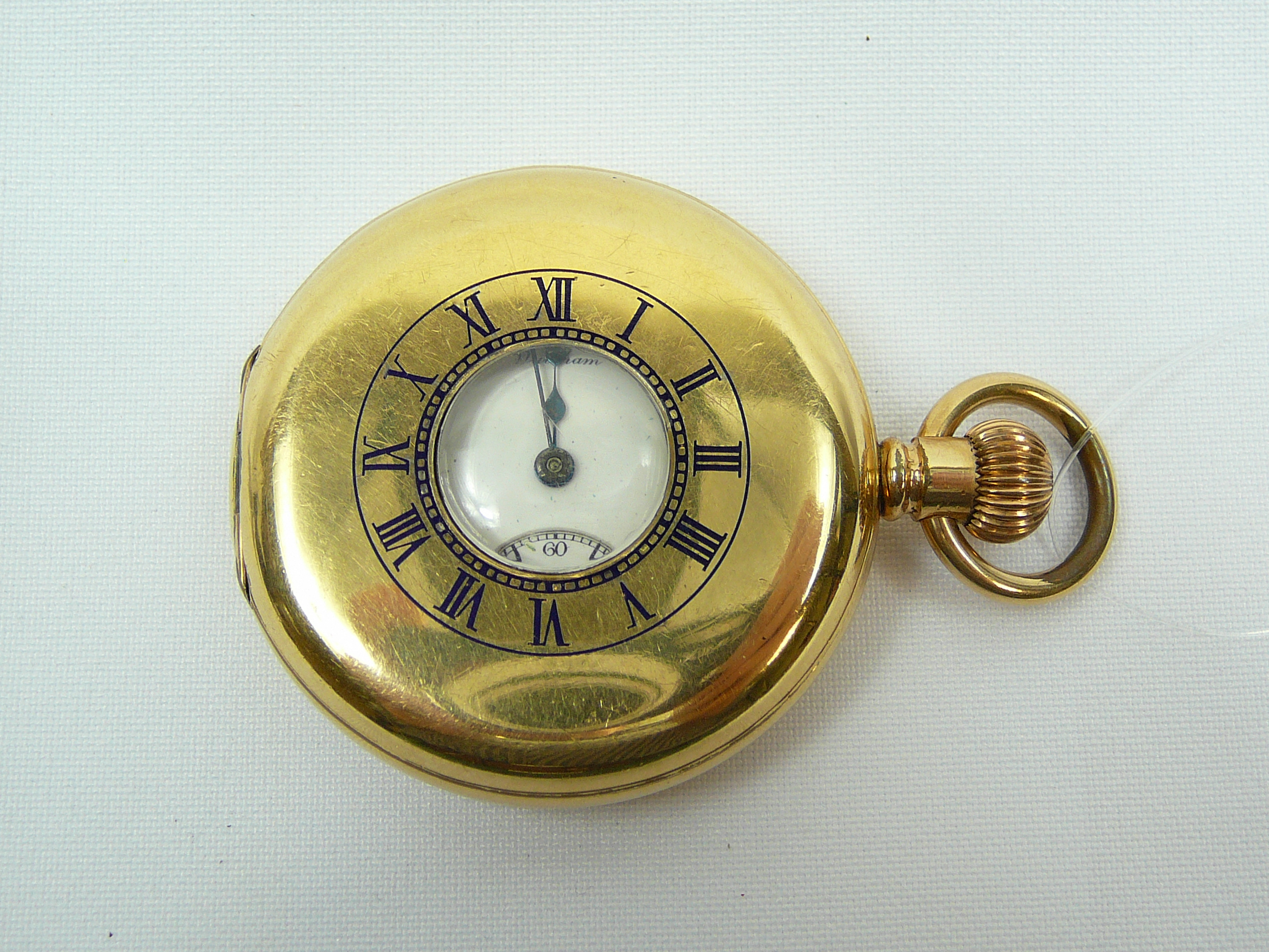 Lot 12 - Gents Demi Hunter pocket watch