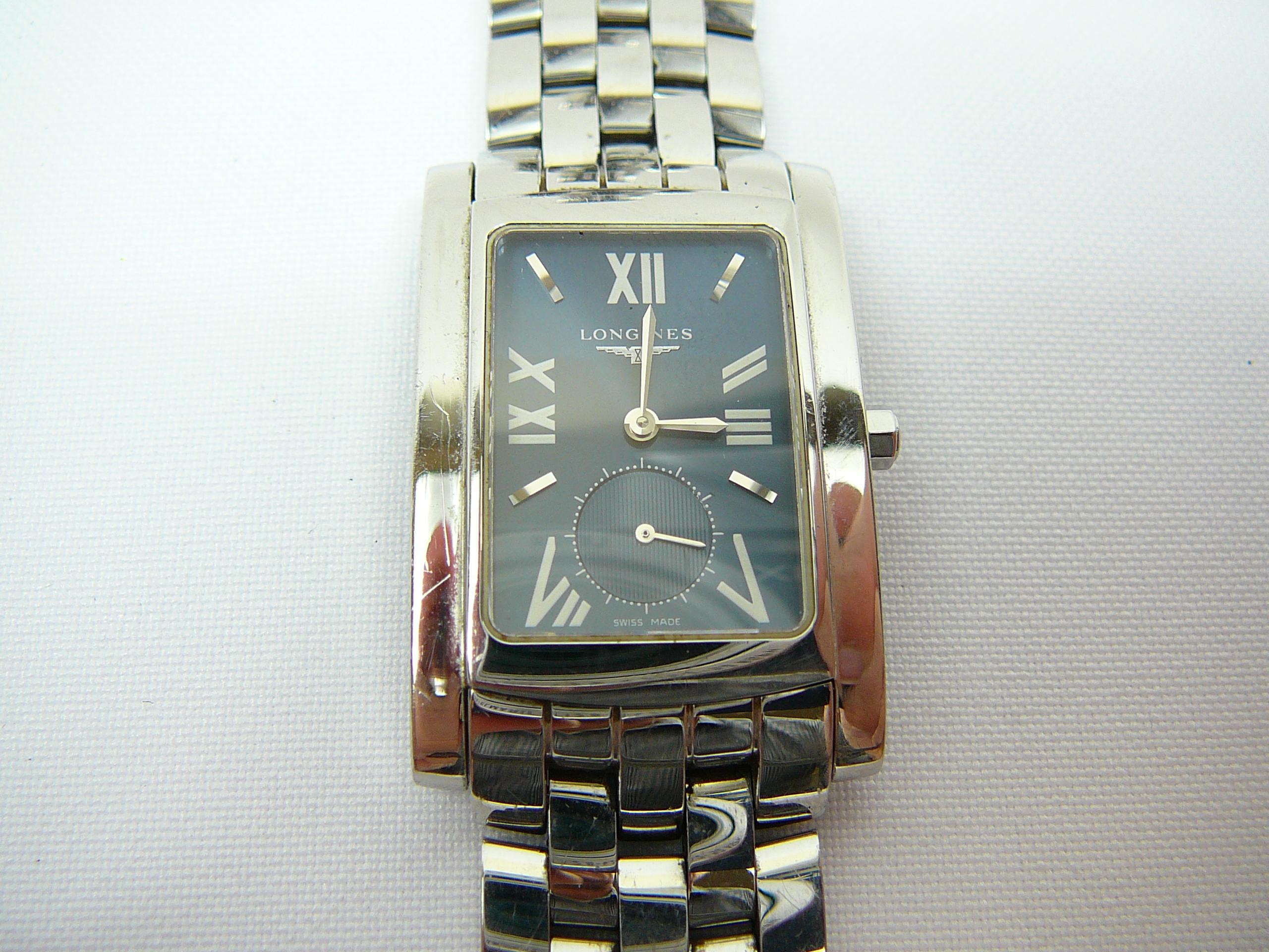 Lot 4 - Gents Longines wrist watch